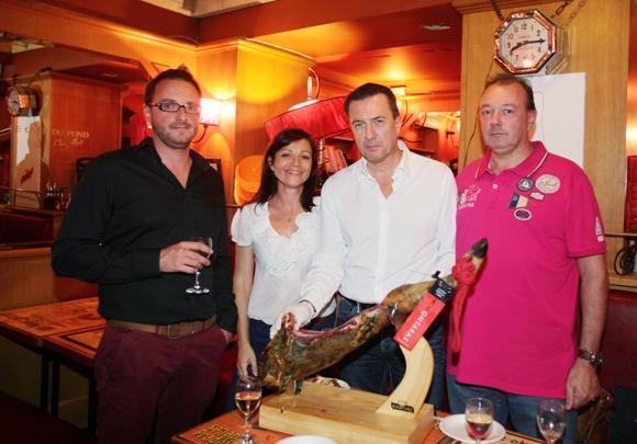 16. Julien Rangeard, Sandra Marzo, Pascal Gaude et Thierry Caurel (Brake France)