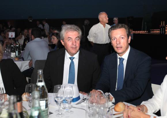 17. Richard Brumm, adjoint aux Finances, et Pascal Blache, maire du 6ème