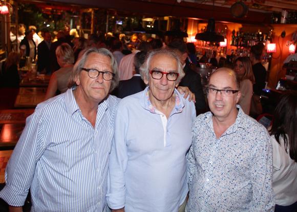 18. Gilles Humbert, architecte, Albert Dray (Le Café du Pond) et Olivier Sanchez, architecte d'intérieur