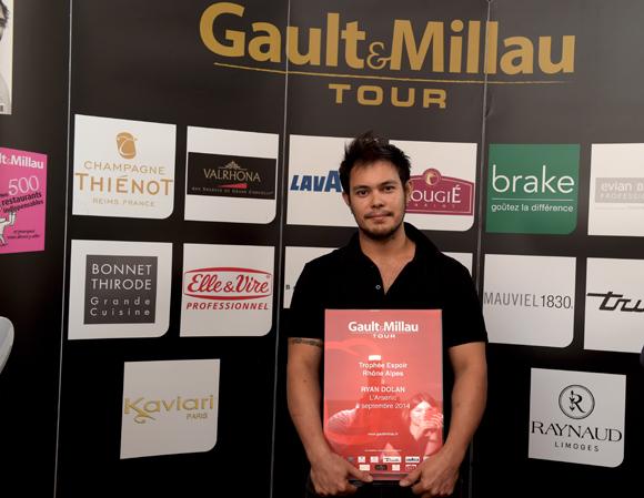 19. Trophée Espoir Rhône-Alpes à Ryan Dolan (L'Arsenic à Lyon)