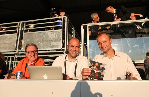 20. Jean-Marie Nauleau, Julien Sanglier et Marc Polisson. Lyon People est de retour au Matmut Stadium