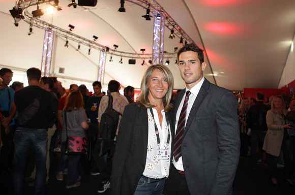 2. Catherine Arbaud et Vincent Martin (LOU Rugby)