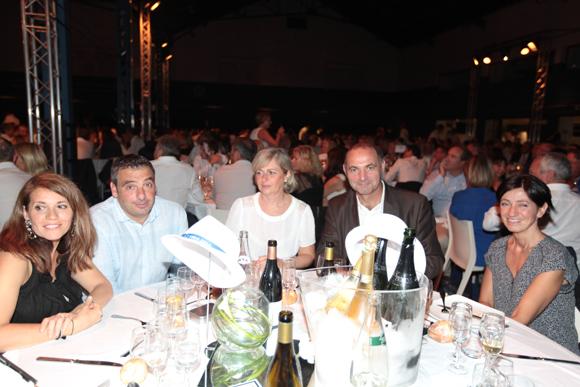 24. Isabelle Moulin (Moulin TP), Laurent Pietrocola (Média Sport Promotion), Christine Cormorèche (Crédit Mutuel), Paul Moulin (Moulin TP) et Patricia Pietrocola (Média Sport Promotion)