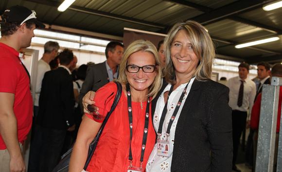 26. Valérie Fétaud et Catherine Arbaud (LOU Rugby)