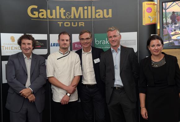 26. Trophée de la pâtisserie Rhône-Alpes à Valentin Duflot (La Pyramide à Vienne)