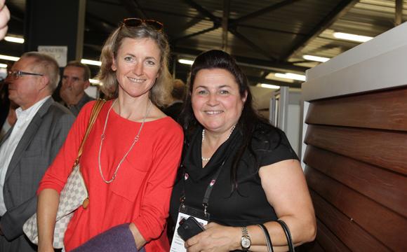 29. Blandine Vignon (CCI de Lyon) et Pascale Mathiolon (Serfim)