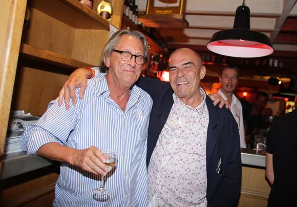 30. Gilles Humbert, architecte et Gilbert Riou (Galerie Riou)