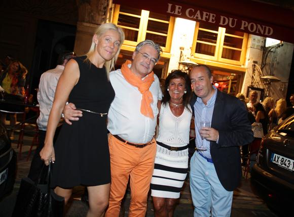 32. Cécile Remond, architecte du patrimoine, Marc Pigeroulet (Arioste), Richard Thavel (SCP Zerbib) et Béryl Maillard, consul de Saint-Domingue