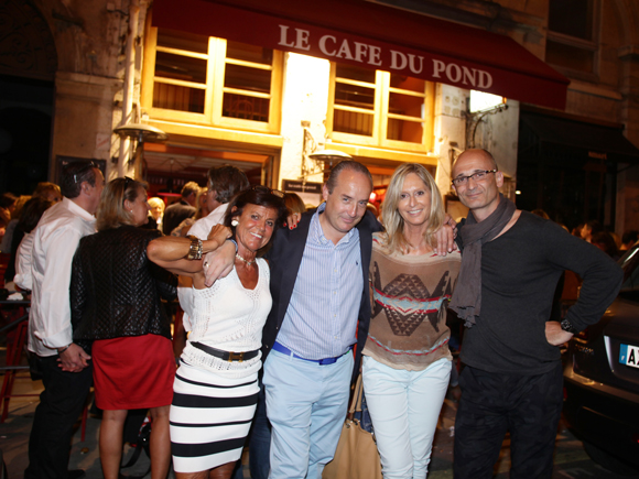 34. Béryl Maillard, consul de Saint-Domingue, Richard Thavel (SCP Zerbib), Catherine Ricard (CGPME) et Nicolas Vial