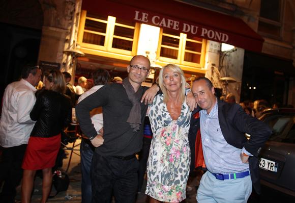 35. Nicolas Vial, Myriam Magnenet (Le Phare de la Baleine) et Richard Thavel (SCP Zerbib)