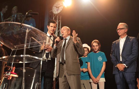 36. Gérard Collomb, sénateur-maire de Lyon