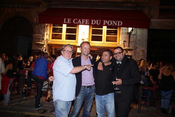 37. Jean-Marie Nauleau, Marco (Lyon People), Albert (Garage Adonis) et Marwan (Cousins Cousines)