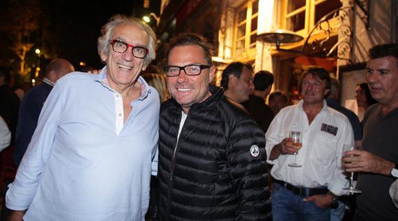 38. Albert Dray (Café du Pond) et Pierre-Yves Gas (Proxicom)