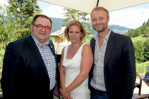 39. Fabrice Sommier (Georges Blanc Vonnas), Sandra Koperek (Mauviel) et Marco (Lyon People)