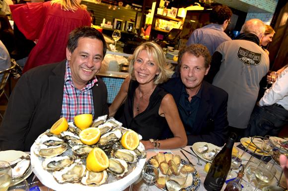 4. Michel Fabrello (FP Plastique), Sandrine Pouquine (Kare) et Pascal Cot