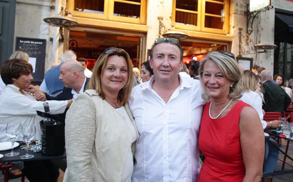 4. Sylvie (Crédit Agricole), Fredo Bailly et Catherine Peyron