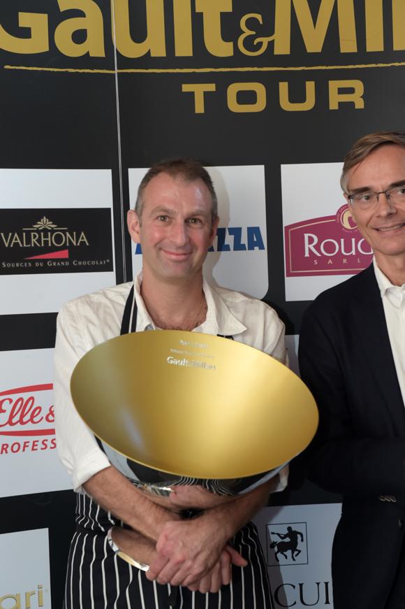 43. Trophée le Gault & Millau d'Or Rhône-Alpes à Yoann Conte (Veyrier du Lac)