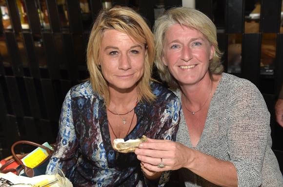 5. Muriel Larréché (Le Progrès) et Sophie Fabrello (Laboratoire Benfait)