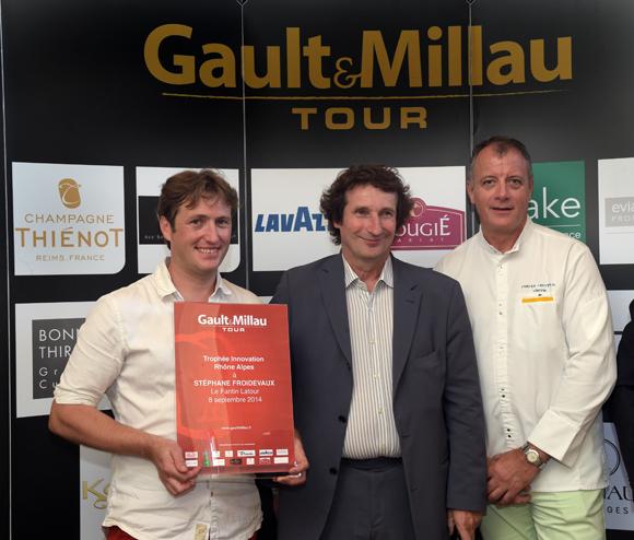 52. Trophée Innovation Rhône-Alpes à Stéphane Froidevaux (Le Fantin Latour à Grenoble)