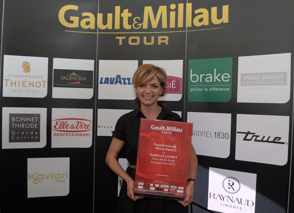 70. Trophée Accueil Rhône-Alpes à Isabelle Loubet (Chez Marie-Ange à Manigod)
