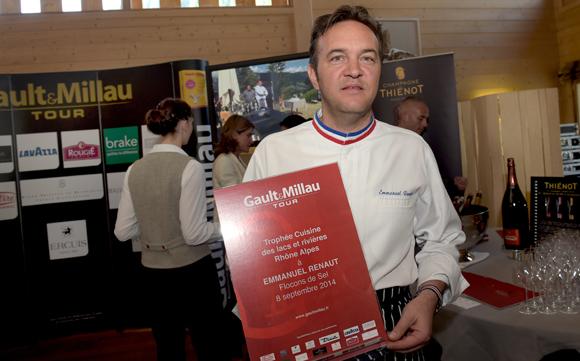 8. Trophée Cuisine des lacs & rivières Rhône-Alpes à Emmanuel Renaut (Flocons de Sel à Megève)