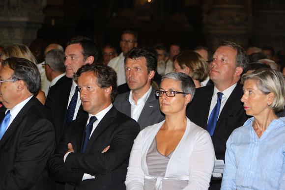 20. Les élus de Lyon Michel Havard (UMP), Stéphane Guilland (UMP) et Christophe Boudot (FN)