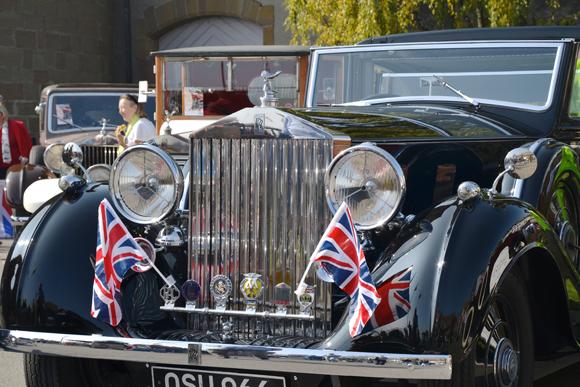 Le Swiss Classic British Car Show célèbre les 110 ans de Rolls Royce