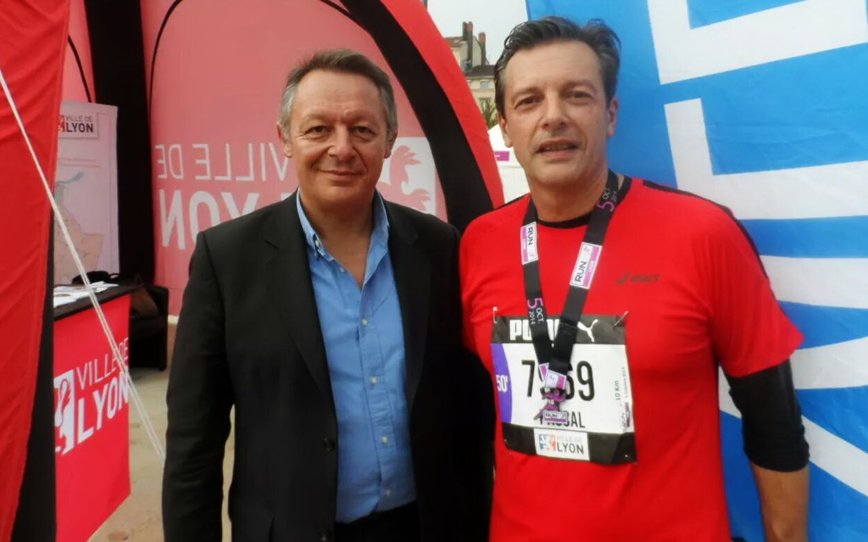 Thierry Braillard et Pascal Blache sur la ligne de départ. Une photo prémonitoire ?