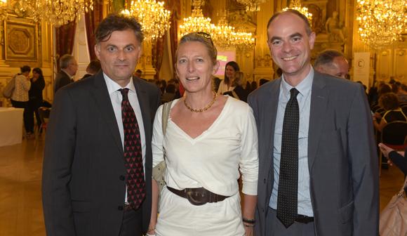 10. Gilles Salgas (Areva), Béatrice Ailloud-Kermin et Guillaume Normand (GDF Suez)