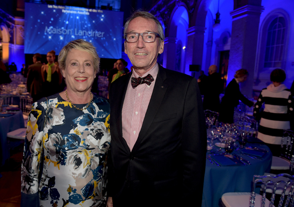 10. Carole Dufour (Idées en Tête) et son époux Bruno, consul d'Equateur