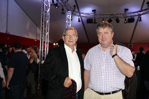1. Gérard Groffe, DRH du groupe Stef et Benoit Soury, DG de La Vie Claire