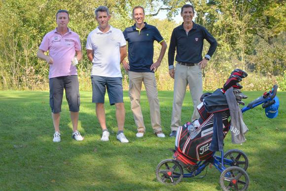 12. Patrick Vigouret (Apicil), Thierry Peysson, Marc Serratrice, Eric Savattez