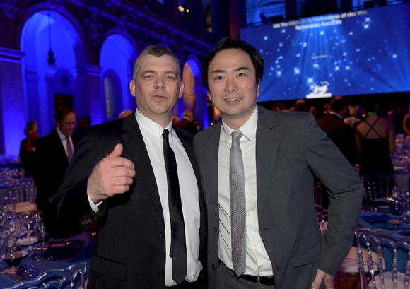 12. Laurent Bouvier, président des Toques Blanches Lyonnaises et Tsuyoshi Arai (Au 14 février)