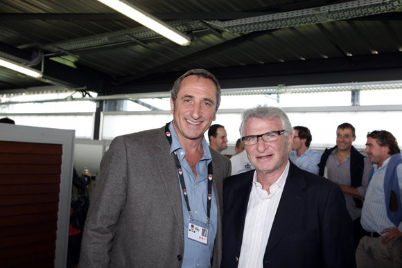 12. Olivier Ferraton (GL Events) et André Franck (Corcep)