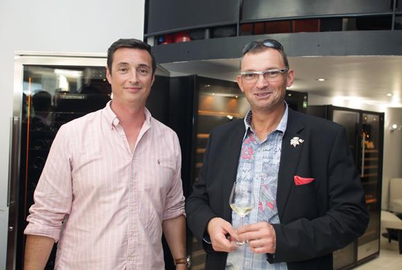 12. Fabien Seignol (EuroCave) et Pierre Many (Restaurant le 110 vins)