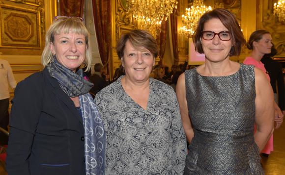 13. Fabienne Drouel (Coatex), Christine Legrand (CPE Lyon) et Sophie Suc (Arkema)