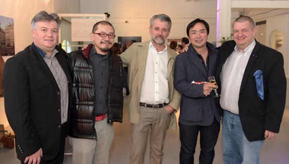 13. Olivier Paget (L'Ame Sœur), Yusuke Ishizuka (Au 14 Février), Mathieu Viannay (Mère Brazier), Takao Takano (Restaurant Takano) et Christophe Marguin