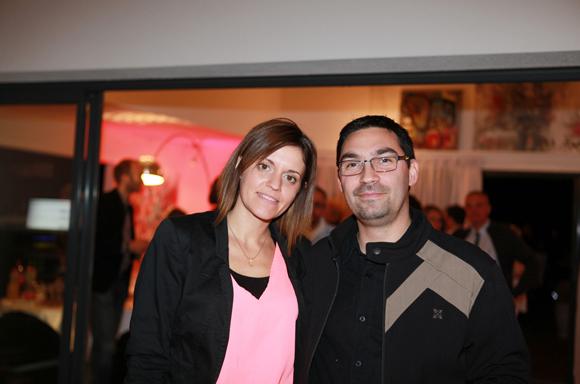 13. Lydie Lasserre (Uriage) et Cyrille Pichon (Le Roy Merlin)