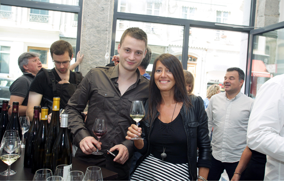13. Romain Chatillon (Cour des Loges) et Florence Guyot (Champagne Margueritte Guyot)