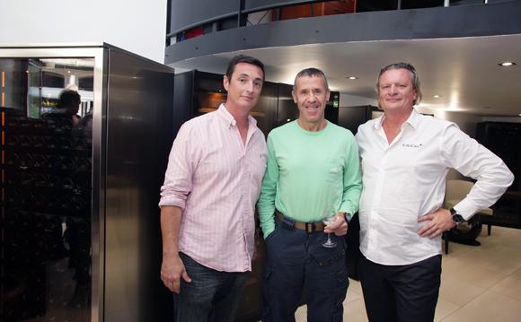 14. Fabien Seignol, Eric Verbrugge et Pascal Marchand (EuroCave)