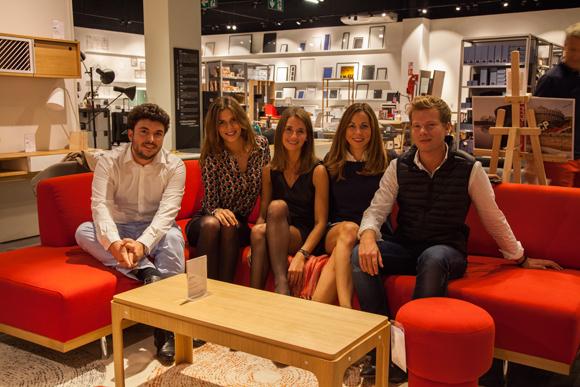 15. Lauren Russeil, Julie Bernardou (NINCAR), Pierre Bonnet (Riou freyt events), Théo Cambet, Laurène Cot (Habitat)