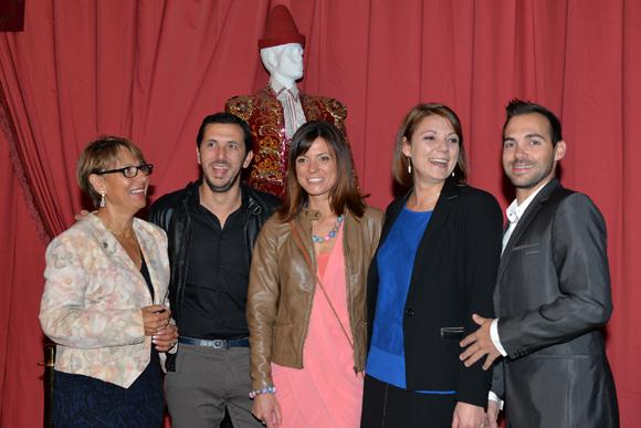15. Françoise Mary (Allianz), Nicolas et Audrey Silly (café du Gros Caillou), Crystelle et Eric Blanchard (Objectif Retraite)