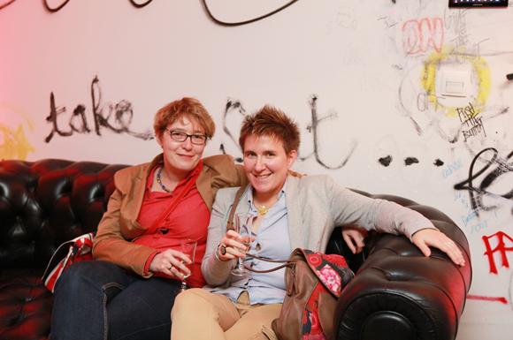 15. Sabine Aumard (Hummar) et Marie-Aline Bayon