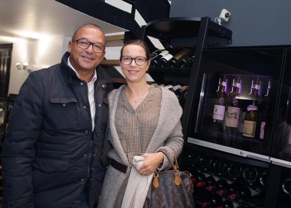 15. Tony Goupil (Champagne Pommery) et son épouse Anne (DB Associés)