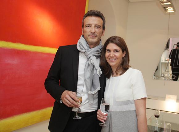 16. Eric Ravier (Capstan) et Clotilde Canova (André-Claude Canova)