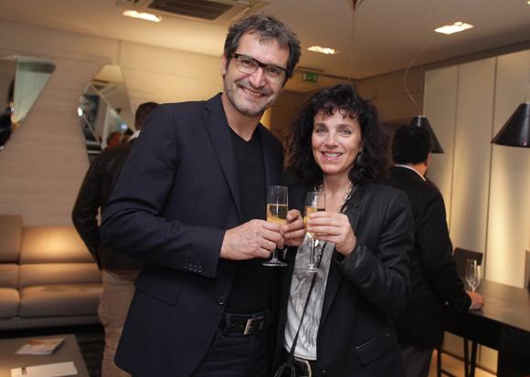 17. Thierry Stefanini (DTS Optique), son épouse Florence (Croix Rouge Française)