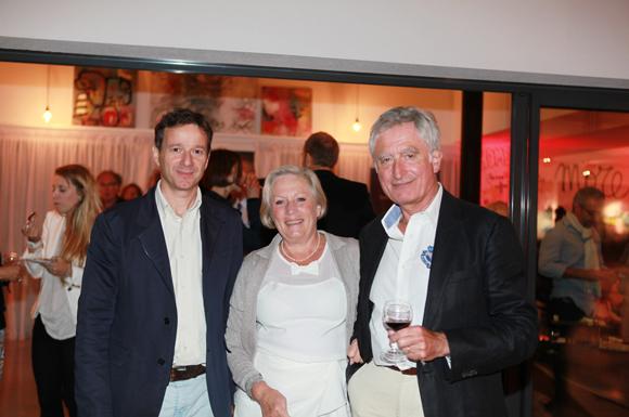 18. Pascal Pancrazio (Lyon Ouest Immobilier), Martine Tranchand et son époux Gérard