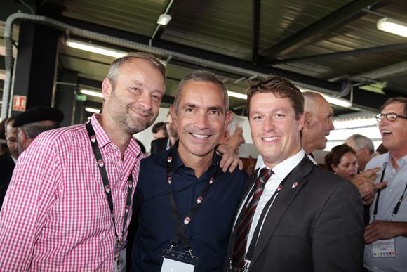 18. Marco (Lyon People), Jérôme Carillon (CGE) et Mathieu Renaud (LOU Rugby)
