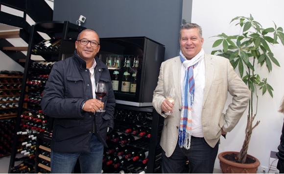 18. Tony Goupil (Champagne Pommery) et Christophe Gerbaud (Assurances Paris-Gerbaud)