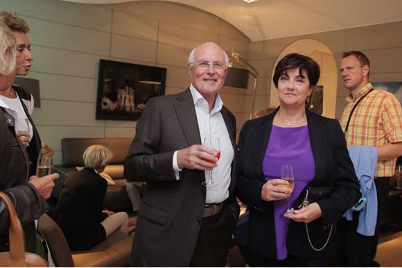 18. Michel Roux et son épouse Corine